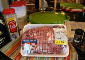 ingredients for pork tamale filling
