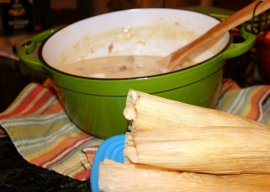 green chili and tamales