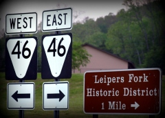 Highway 46 Leipers Fork TN