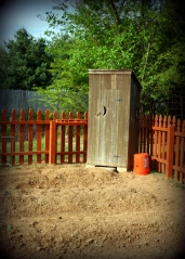 outhouse tool shed